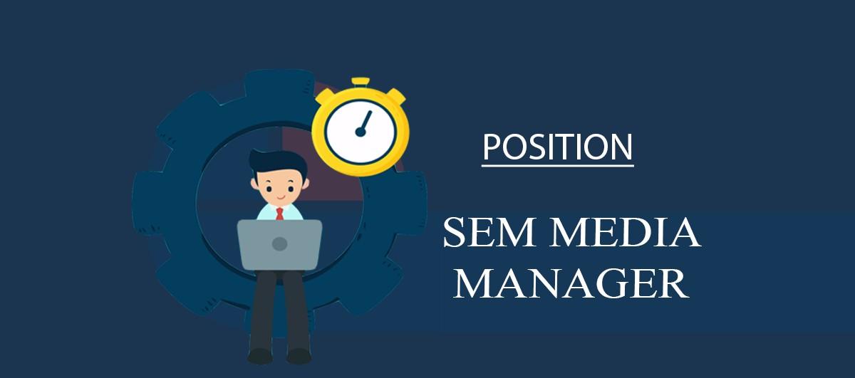 Вакансия SEM Media Manager